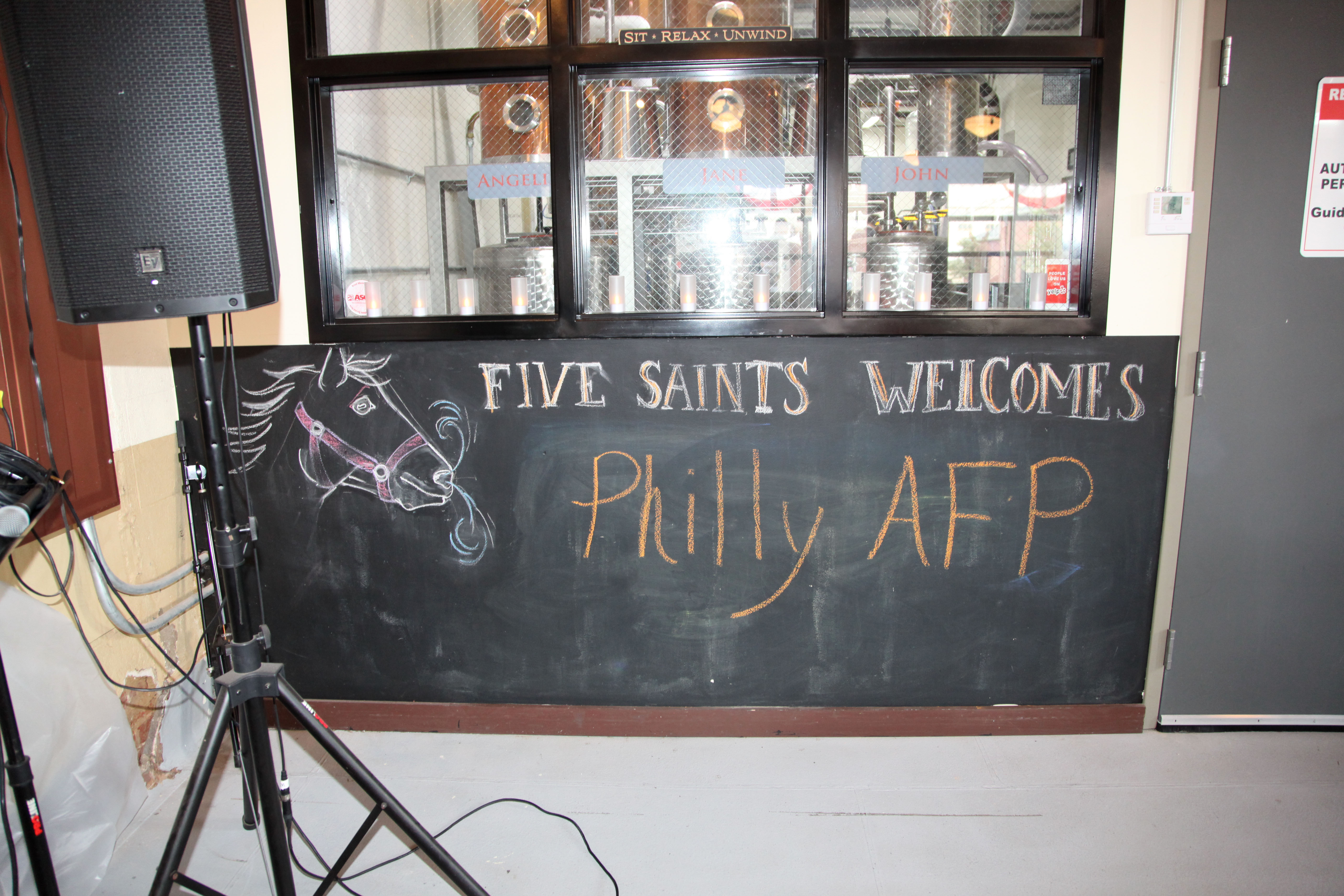 Welcome Philly AFP