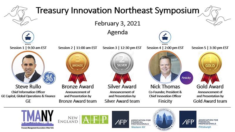 Treasury Innovation Northeast Symposium: 5 regions; 1 great event