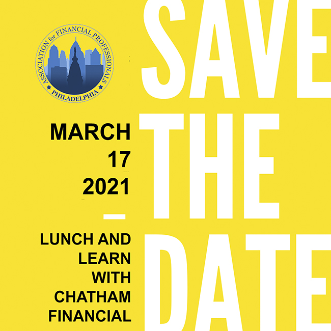 Save The Date: Lunch and Learn with Chatham Financial